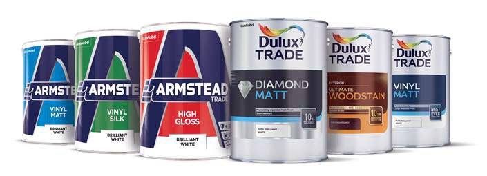 Dulux Trade's new look, Armstead replaces Glidden